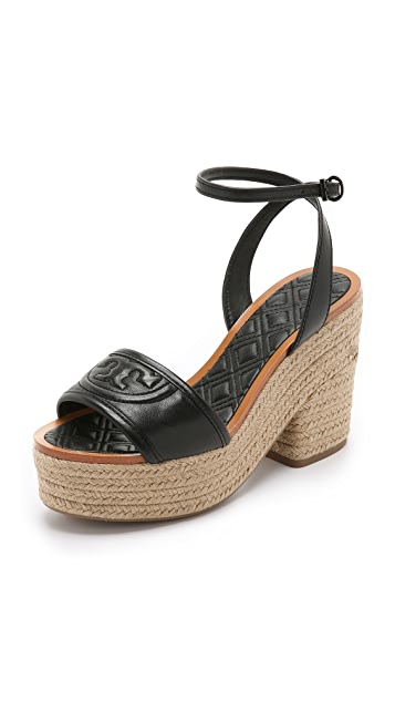 c40e55cd7b133 Tory Burch Marion Quilted Espadrille Sandals