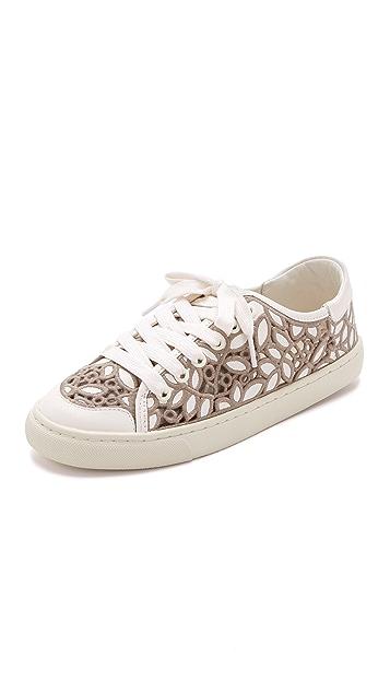 d511d736543 Tory Burch Rhea Lace Sneakers