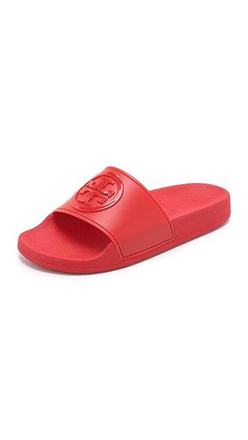 85946a69da1 Tory Burch Jelly Flat Slides