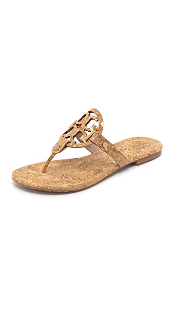 39cb20e78 Tory Burch Cork Miller Sandals