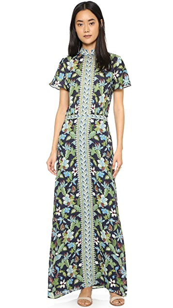 2bc53df98c6 Tory Burch Silk Caftan Dress