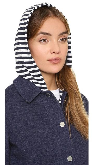 Tory Burch Hooded Jacket