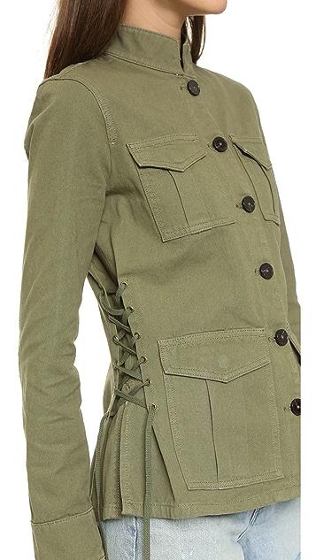 Tory Burch Side Lace Jacket