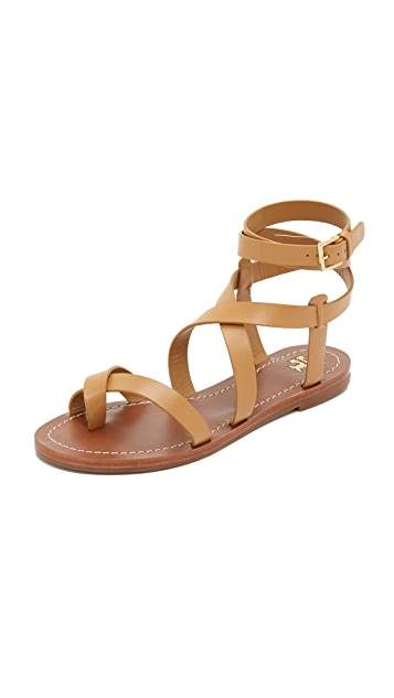 Tory Burch Patos Sandals