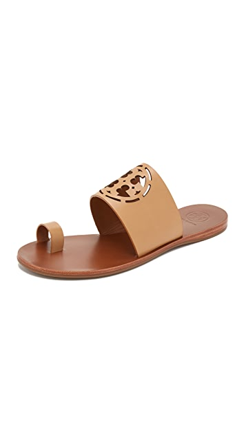 a545d6b57 Tory Burch Zoey Toe Ring Slides