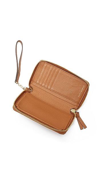 22b38b8f01 Tory Burch Thea Zip Around Wristlet Wallet | SHOPBOP