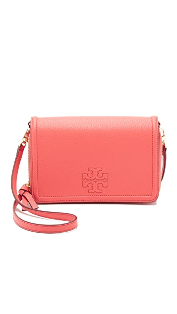 cb9a7a9b7fd Tory Burch Thea Flat Wallet Cross Body Bag