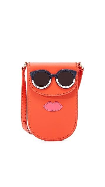 Tory Burch Novelty Mini Phone Cross Body Bag