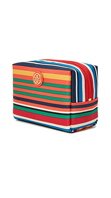 Tory Burch Printed Nylon Brigitte Cosmetic Case