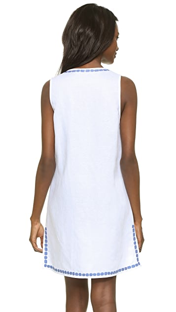 Tory Burch Talisay Embroidered Dress