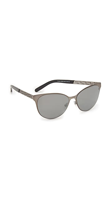 1173a7ded72b Tory Burch Modern Metal Sunglasses