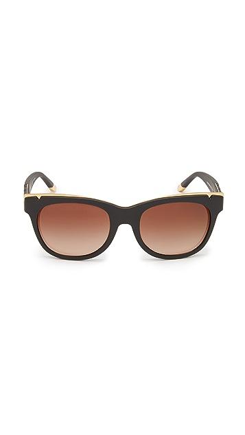Tory Burch Modern Metal Sunglasses