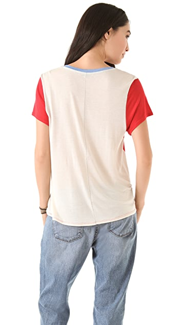 Townsen Colorblock Henley Top