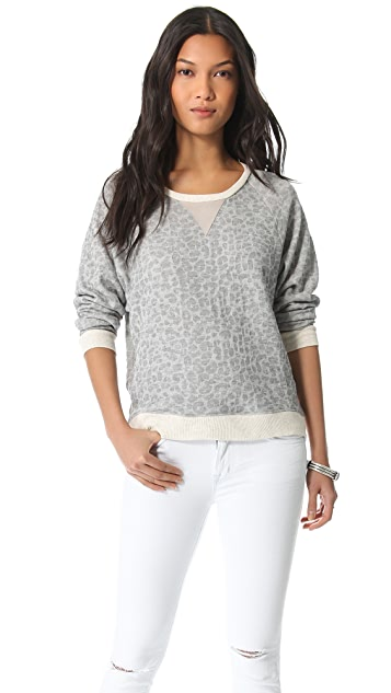 Townsen Cheetah Fleece Pullover