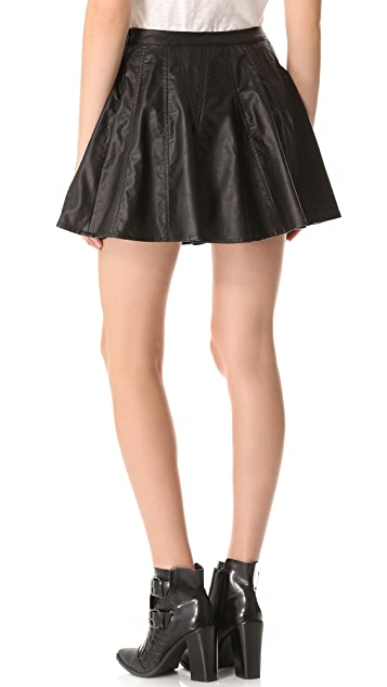 Townsen Faux Leather Skirt