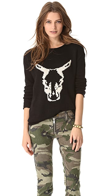 Townsen Cow Sweater