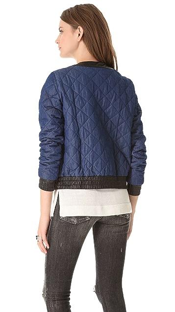 Townsen Quilted Denim Jacket