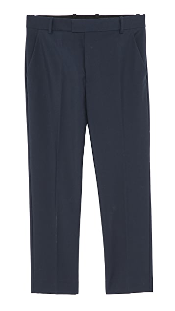 3.1 Phillip Lim Saddle Fit Trousers with Side Pockets