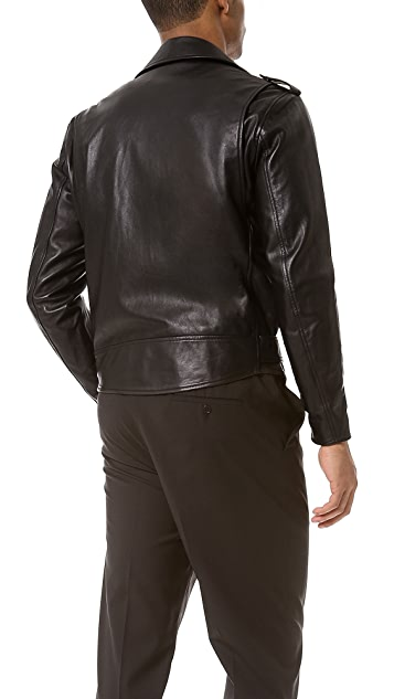 3.1 Phillip Lim Motorcycle Jacket with Zippers & Pockets