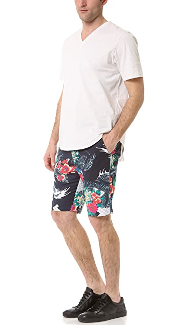 3.1 Phillip Lim Slim Fit Tapered Shorts