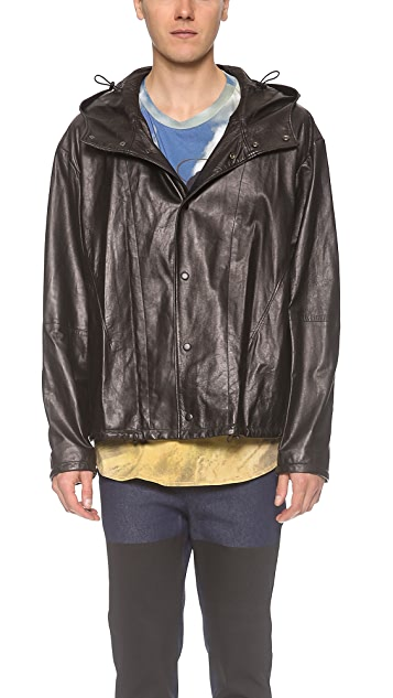 3.1 Phillip Lim Box Cut Leather Jacket
