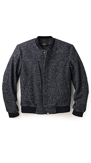 3.1 Phillip Lim Speckled Boucle Jacket