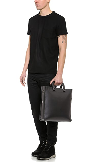 3.1 Phillip Lim Courier 2-Part Carryall Tote