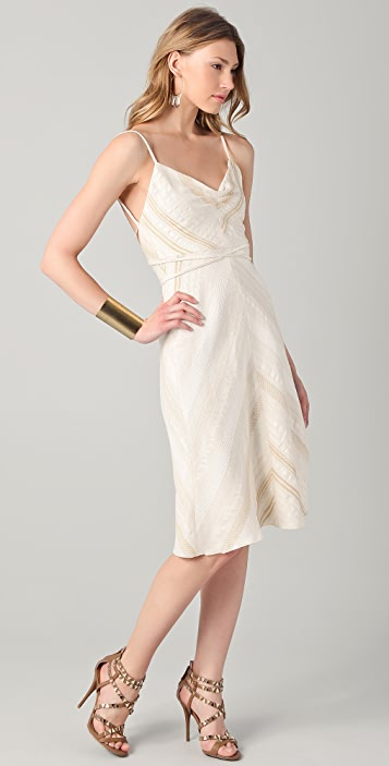 Tribune Standard Strappy Chevron Dress