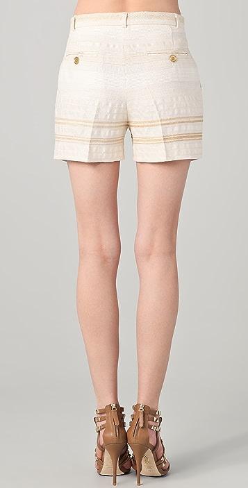 Tribune Standard Pleated Abbreviated Shorts