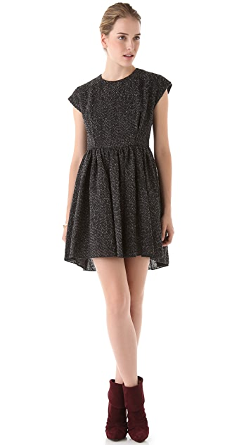 Tribune Standard Peplum Mini Dress