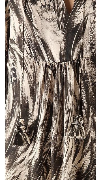 Tribune Standard Tassel Bib Dress