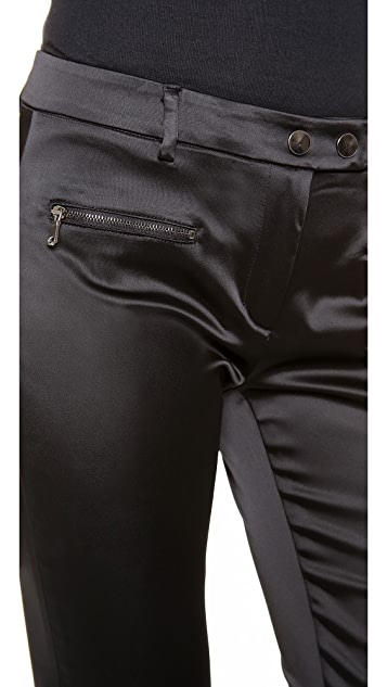 True Royal Slim Fit Satin Pants