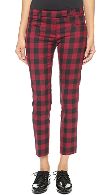 True Royal Vichy Check Trousers