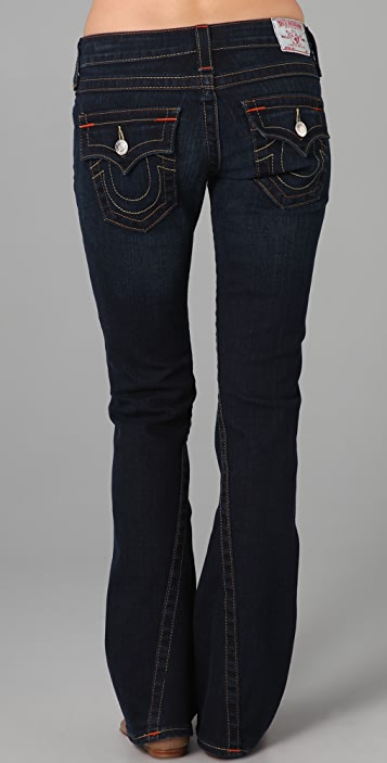 True Religion Petite Joey Flare Jeans