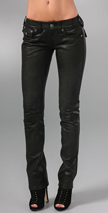 True Religion Billy Leather Pants