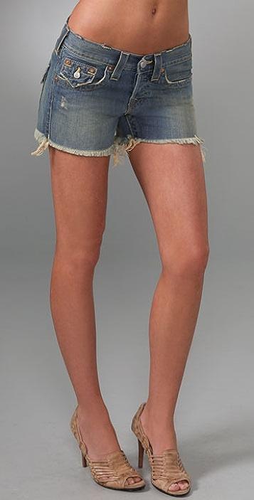 True Religion Blaire Boyfriend Shorts