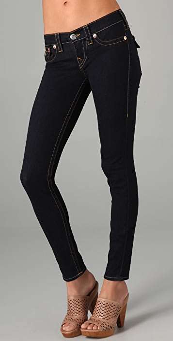 True Religion Misty Super Skinny Denim Leggings