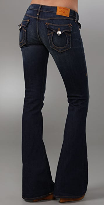 True Religion Carrie Skinny Flare Jeans