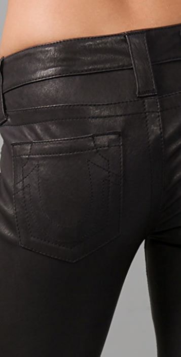 True Religion Stella Leather Pants