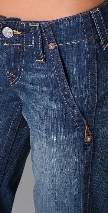 True Religion Sammy Trouser Flare Jeans