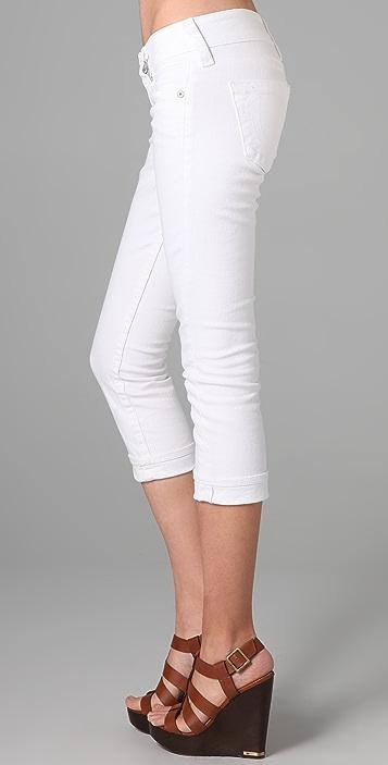 True Religion Lizzy Cropped Skinny Jeans