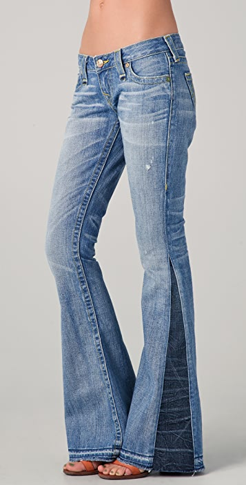 8fc32aea776dd True Religion Bobby Love & Haight Flare Jeans | SHOPBOP