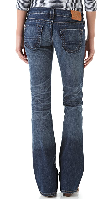 True Religion Tony Slim Boot Leg Jeans