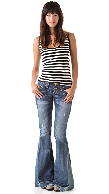 True Religion Morgan Flare Love & Haight Jeans