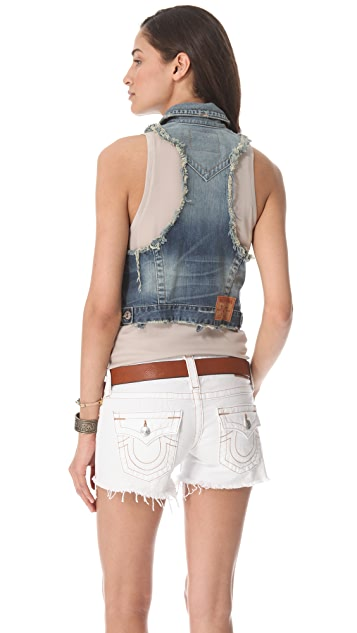 True Religion Leah Vest