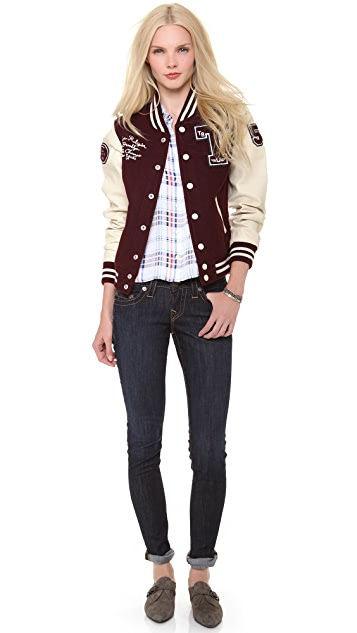 True Religion Richie Varsity Jacket