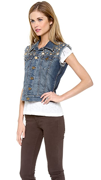 True Religion Shelby Western Vest