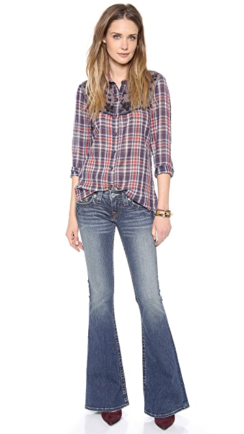 True Religion Carrie Flare Jeans