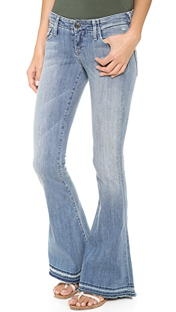 True Religion Charlie Petite Flare Jeans