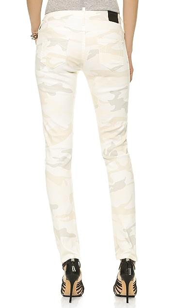 True Religion Brisbane Camo Skinny Jeans
